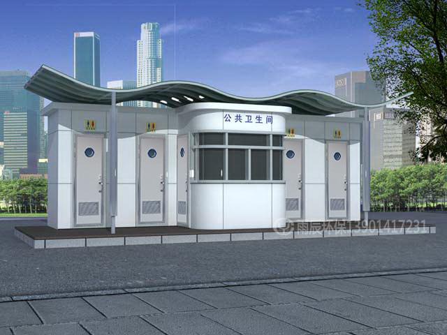 WCE-CS60207 现代城市公厕